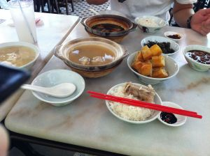 A Bak Kuh Teh set for two!